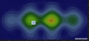 Contours on WPF Heatmaps