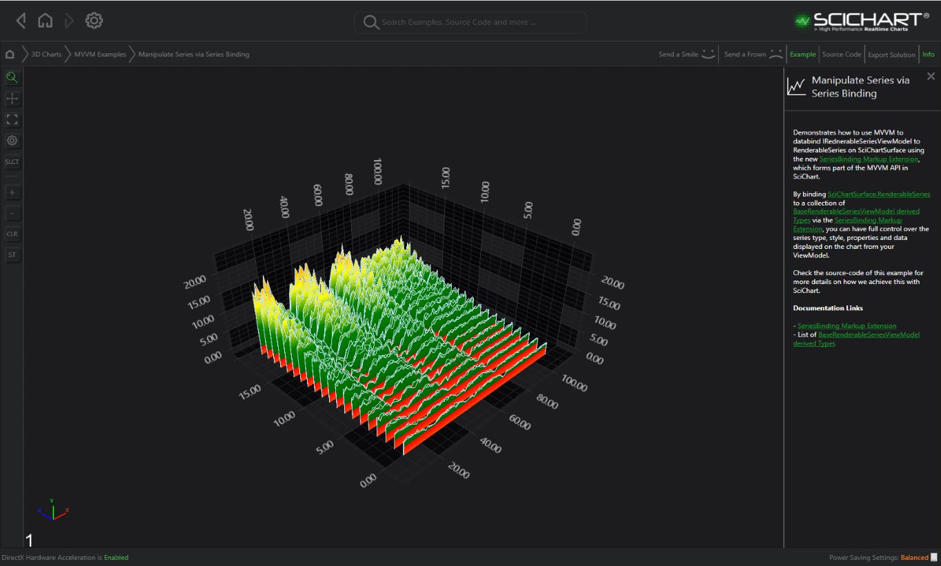 WPF Manipulate series via Series Binding | Fast, Native Chart