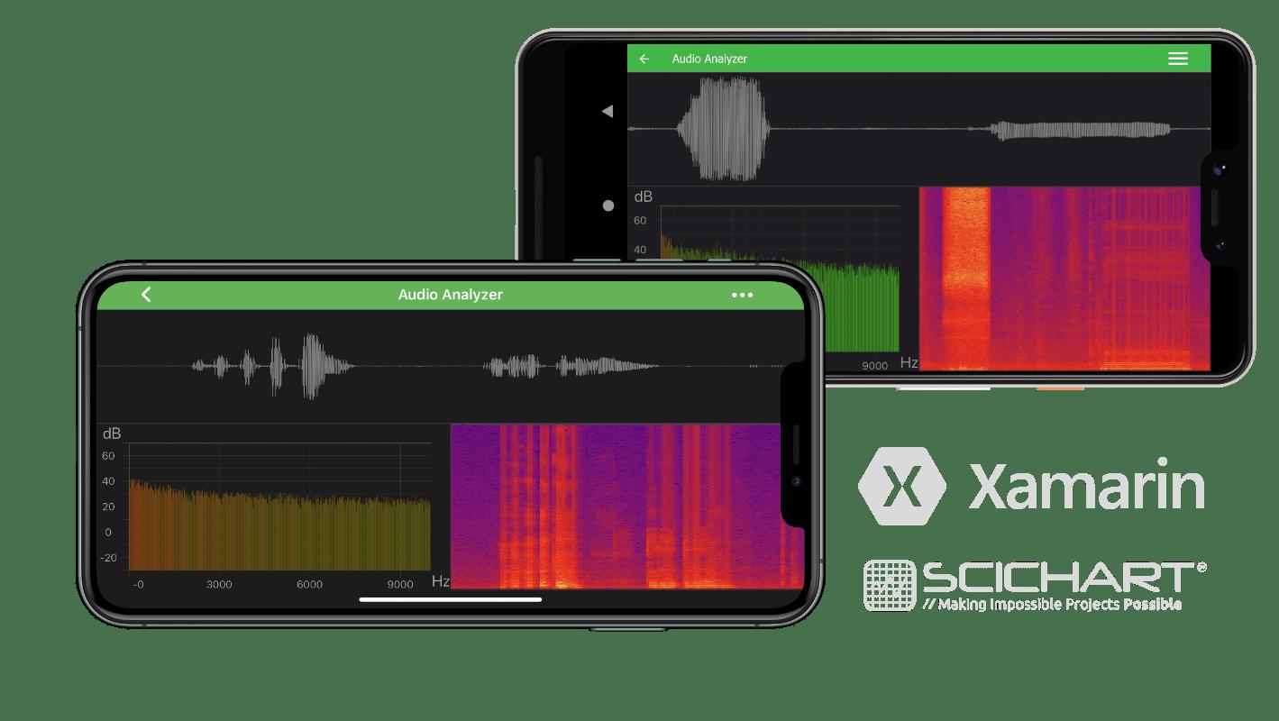 Xamarin Audio, Radio frequency and Spectrum Analyzer ...